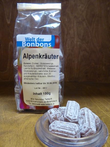 Alpenkräuter-Bonbon