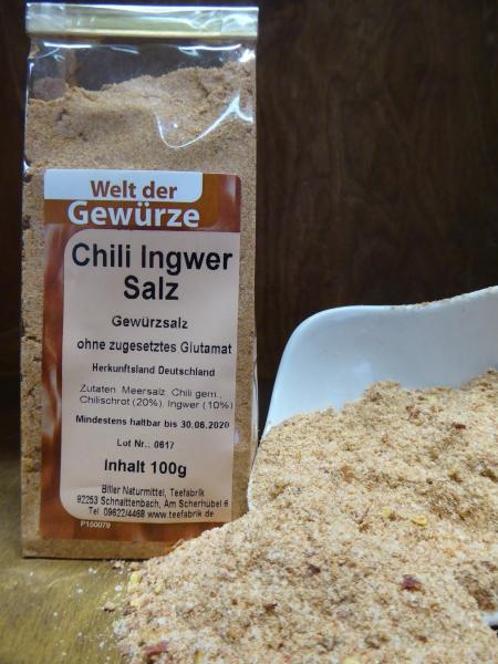 Chili-Ingwer-Salz