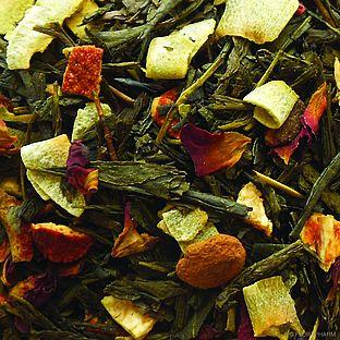 Grüner Tee Grüner Winter