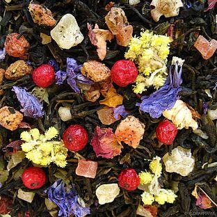 Weisser Tee Tee der langen Freundschaft