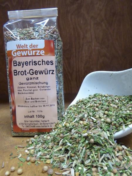 Bayer Brotgewürz ganz