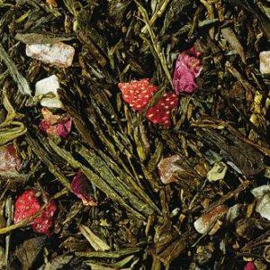 Grün-weisser Tee Engelskuss lose