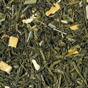 Grüner Tee Sencha Lemon lose
