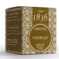 Schwarzer Tee Vanille